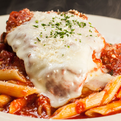 DINNER: Chicken Parmesan