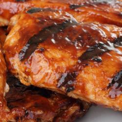 DINNER: Roasted BBQ Chicken Breast