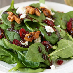 DIABETIC LUNCH: Chicken and Spinach Salad