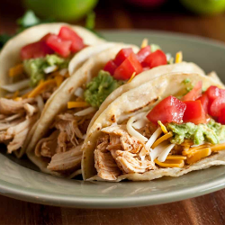 LUNCH: Chicken Tacos