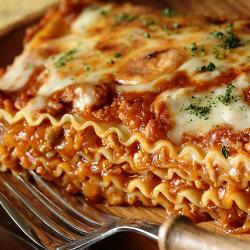 LUNCH: Healthy Lasagna