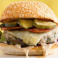 DIABETIC LUNCH: Miami Cuban Turkey Burger