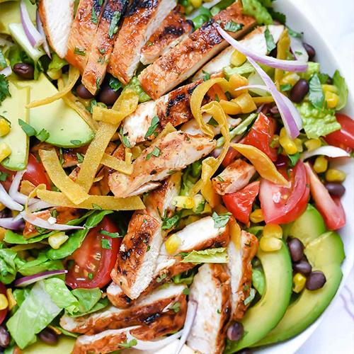 LUNCH: Southwestern Chicken Salad