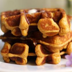 DIABETIC BREAKFAST: Sweet Potato Waffle