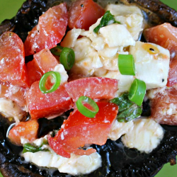 VEGETARIAN DINNER: Balsamic Portobello & Tomato Salad
