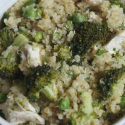 LOW SODIUM LUNCH: Warm Chicken Quinoa Salad