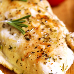 LOW SODIUM DINNER: Rosemary Chicken